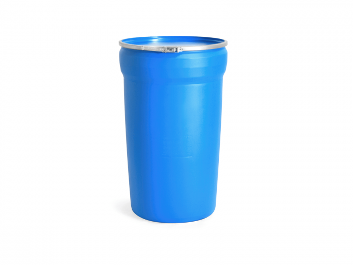 55 Gallon Plastic Drum with Lid