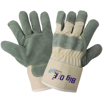 Big Ole Premium Leather Palm Glove, One Size