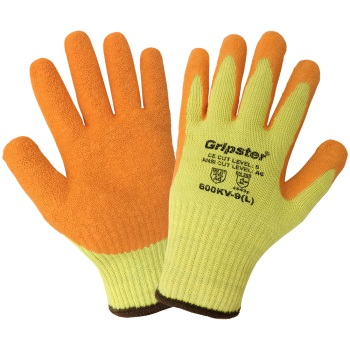 10 Gauge Gripster® High-Visibility Cut Resistant Gloves