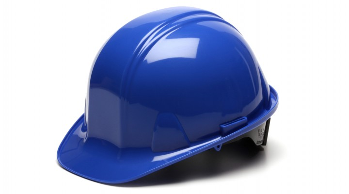 Cap Style Hard Hat, 6-Point Ratchet Suspension