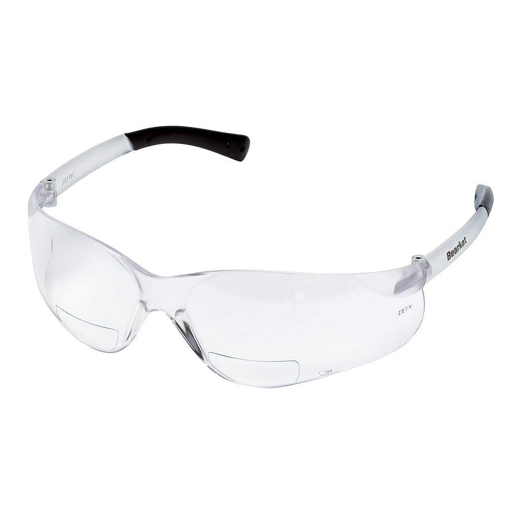 Bearkat Magnifier Safety Glass, Clear Lens