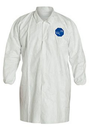 Tyvek® Lab Coat w/ No Pockets