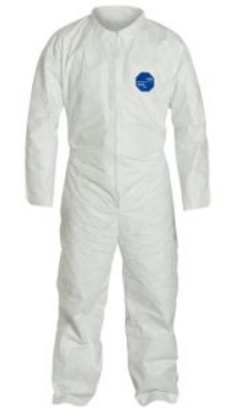 Tyvek® coverall - open wrists & ankles