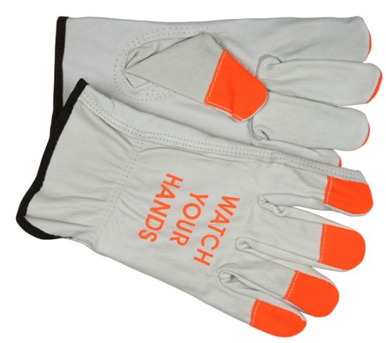 Leather Drivers Work Gloves