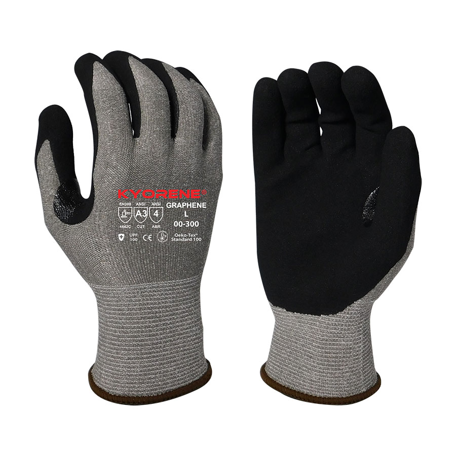 13 Gauge Nitrile Palm Coated Glove