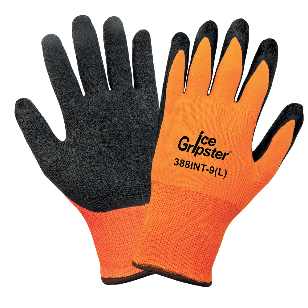 High-Visibility Water Repellent Low Temperature Gloves