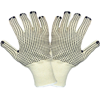 Economy Two Side Dotted Terry Cloth Gloves