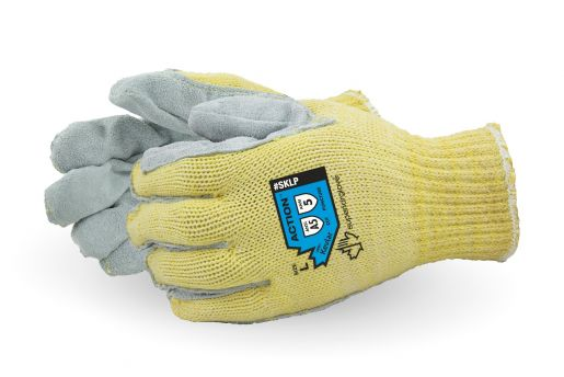Kevlar Action® Cut Resistant Leather Palm Glove