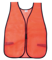 [SA-02-V201] General Purpose Safety Vest, Hi-Viz Orange