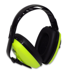 [HP-M1] Bullhead Safety® Lime Earmuff, NRR 23