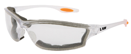 [EP-LW310AF] Law III Wrap Around Style Safety Glass with Foam Seal, Dielectric (80431000)