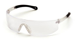 [EP-4300] Provoq Safety Glass, Clear Lens with Clear Temples