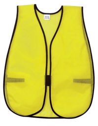[SA-02-V200] General Purpose Safety Vest, Hi-Viz Lime