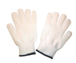 [A-112P] 7 Gauge Polyester String Knit Glove, Size XL