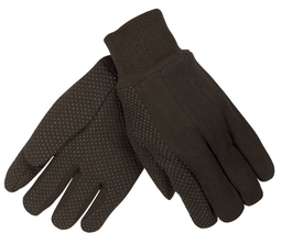 [A-7800] Brown Jersey Gloves