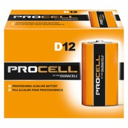 [IP-243-PC1300] Duracell Procell Batteries, Non-Rechargeable Alkaline, 1.5 V, D, 12/Pack