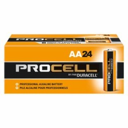 [IP-243-PC1500BKD] Duracell Procell Batteries, Non-Rechargeable Alkaline, 1.5 V, AA, 24/Pack