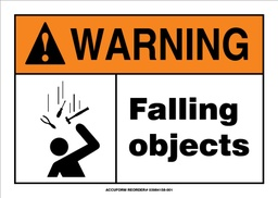 [IP-VS57] Custom Sign - FALLING OBJECTS