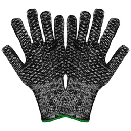 7 Gauge Acrylic Terry Cloth Patterned Palm PVC Glove