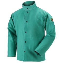 9 Oz Green FR Welding Jacket