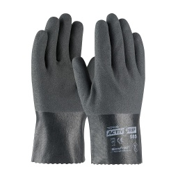 15 Gauge Nitrile Coated Glove with Cotton Liner