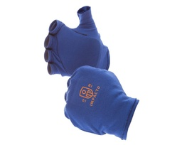 Anti-Impact Fingerless Glove Liner with Padding, Right Hand Only