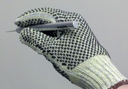 Aramid/Cotton Blend 115KP Glove with PVC Dots