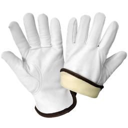 Premium Insulated Goatskin Driver Style Gloves