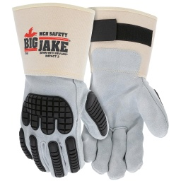Big Jake® Premium Leather TPR Impact Protection Glove