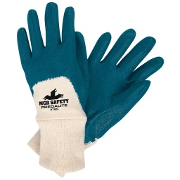 Two Piece Interlocked 3/4 Dipped Nitrile Gloves