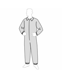 PermaGard™ Coverall - elastic wrists & ankles