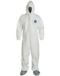 Tyvek® coverall with Attached Hood & Boots
