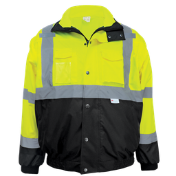 High-Visibility Eight-in-One Winter Bomber Jacket