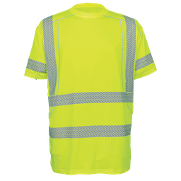 High-Visibility High Performance Stretch Short Sleeved Shirt