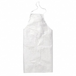 [AP-TY273BWH00010000] Tyvek 400 Disposable Bib Apron