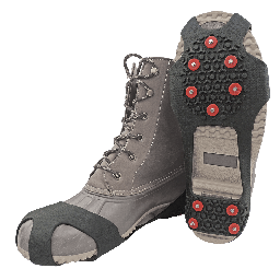 Ice Gripster™ Treads Anti-Slip Traction Cleats with Carbon Steel Studs